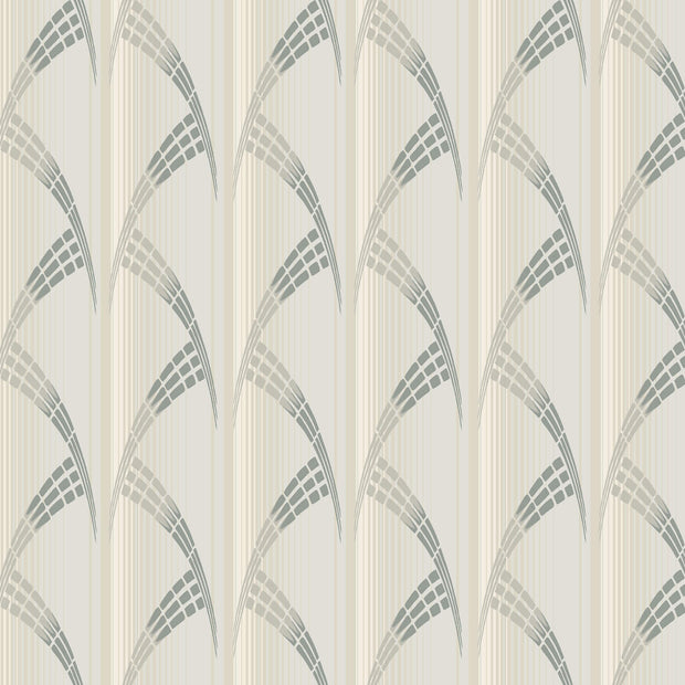 Antonina Vella Metropolis Wallpaper - White & Gray