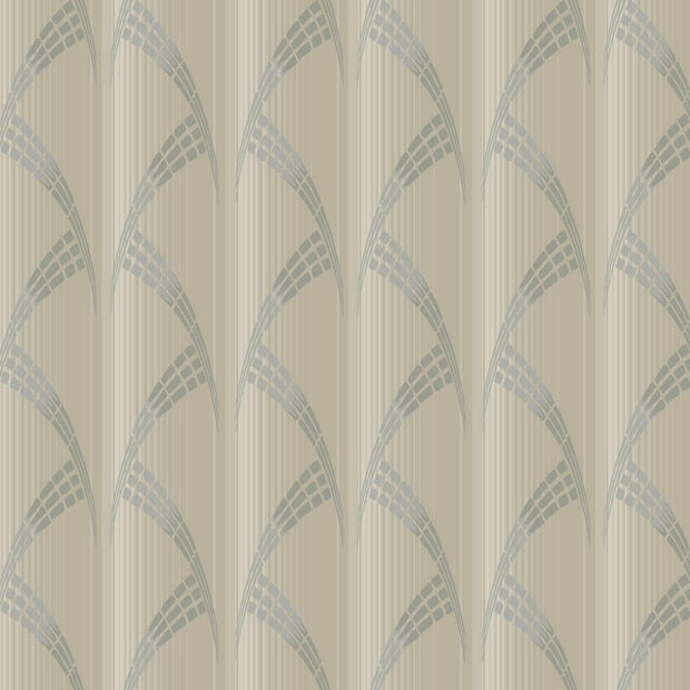 Metropolis Deco Wallpaper - SAMPLE ONLY