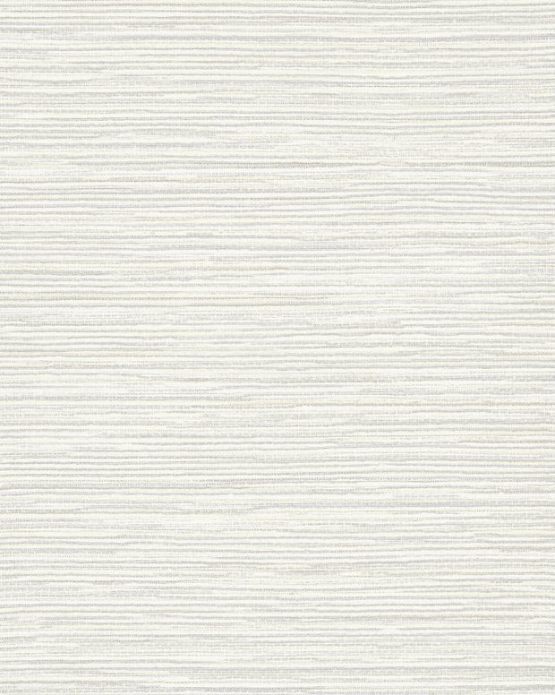 Ramie Weave Wallpaper - White