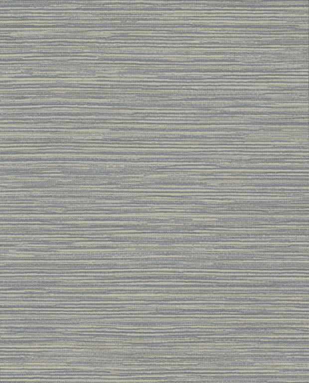 Ramie Weave Wallpaper - Blue/Gray