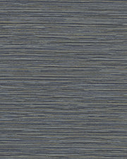 Ramie Weave Wallpaper - Dark Blue