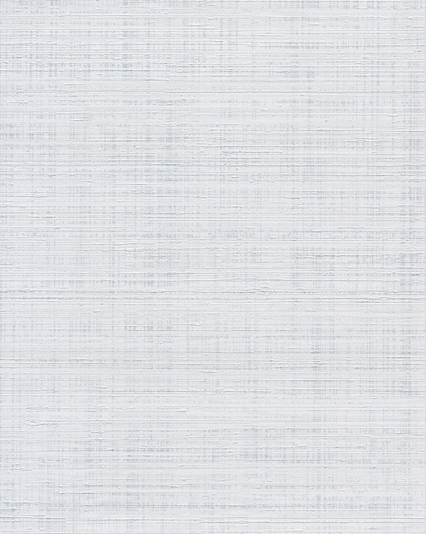 Spun Silk Wallpaper - Light Gray/White