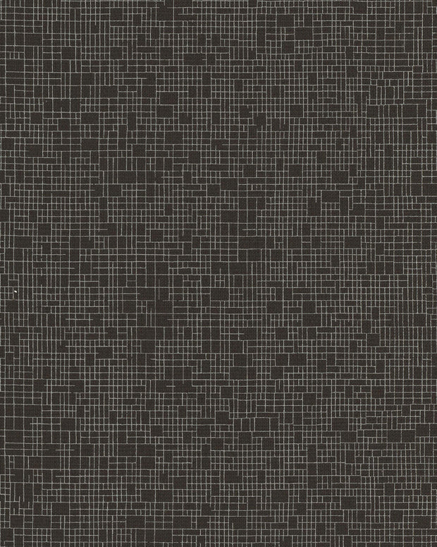 Wires Crossed Wallpaper - Dark Gray