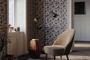 Christiane Lemieux Pernelle Wallpaper - Black On Tan