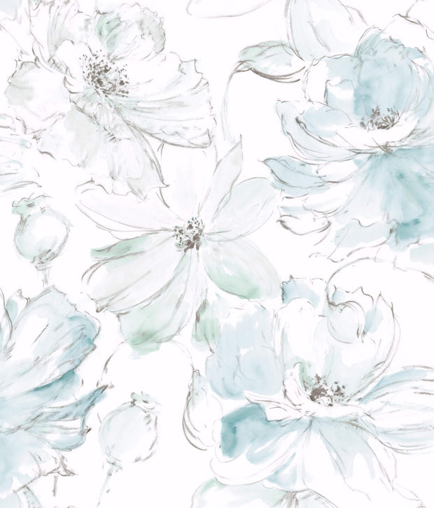Floral Dreams Wallpaper - SAMPLE ONLY