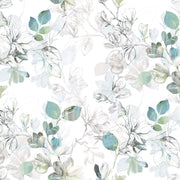 Arbor Vine Wallpaper - Blue/Green