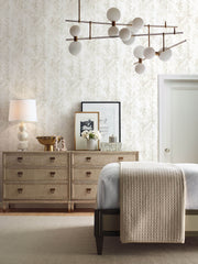 Textural Impremere Wallpaper - White & Tan