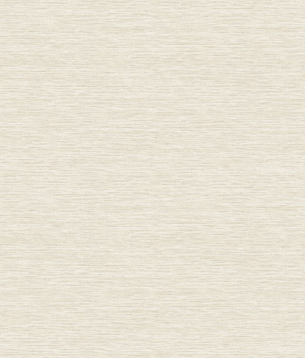 Challis Woven Wallpaper - Off White