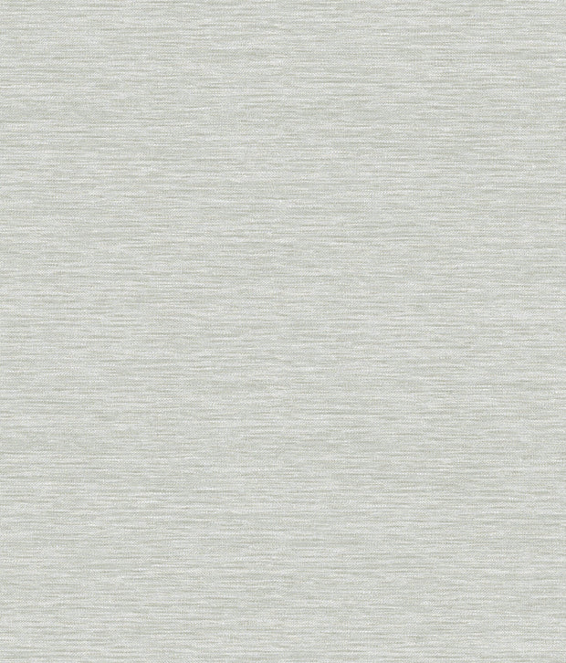Challis Woven Wallpaper - Light Gray