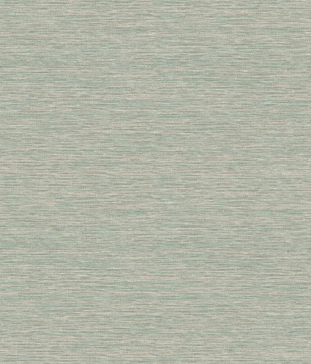 Challis Woven Wallpaper - Green