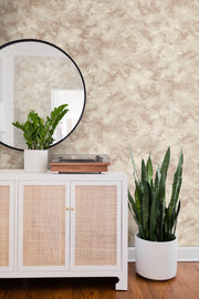 Pressed Petioles Wallpaper - Brown