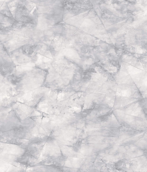 Pressed Petioles Wallpaper - Blue/Grey
