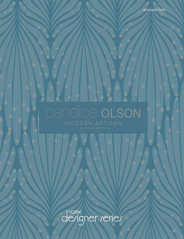 Candice Olson Modern Artisan II Bargello Wallpaper - Neutral