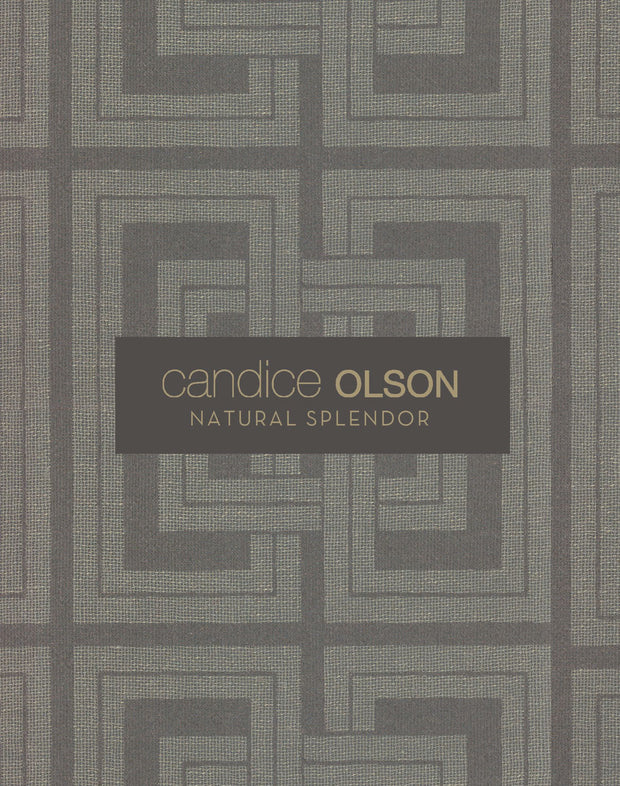 Candice Olson Cork Wallpaper - Blue