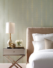DL2933 Candice Olson Radiant Wallpaper Gold Spa