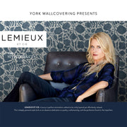 Christiane Lemieux Kotobi Wallpaper - Indigo Blue