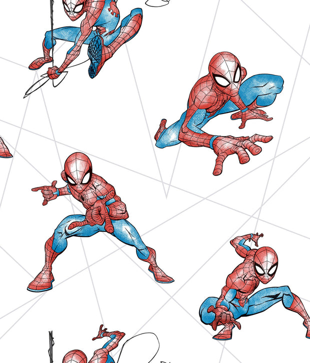 Spider-Man Fracture Wallpaper - Red, Blue, Gray