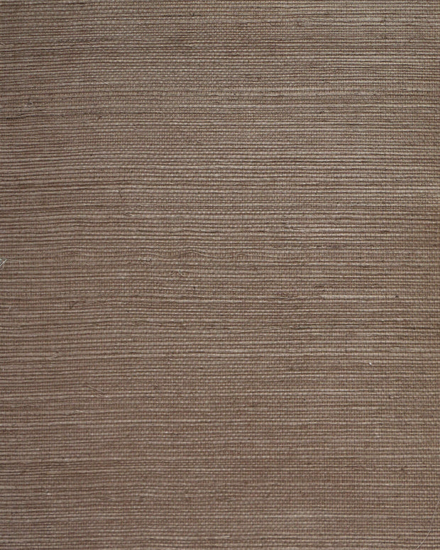 Candice Olson Plain Sisals Wallpaper - Taupe