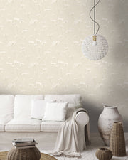 Candice Olson Enchanted Wallpaper - Cream