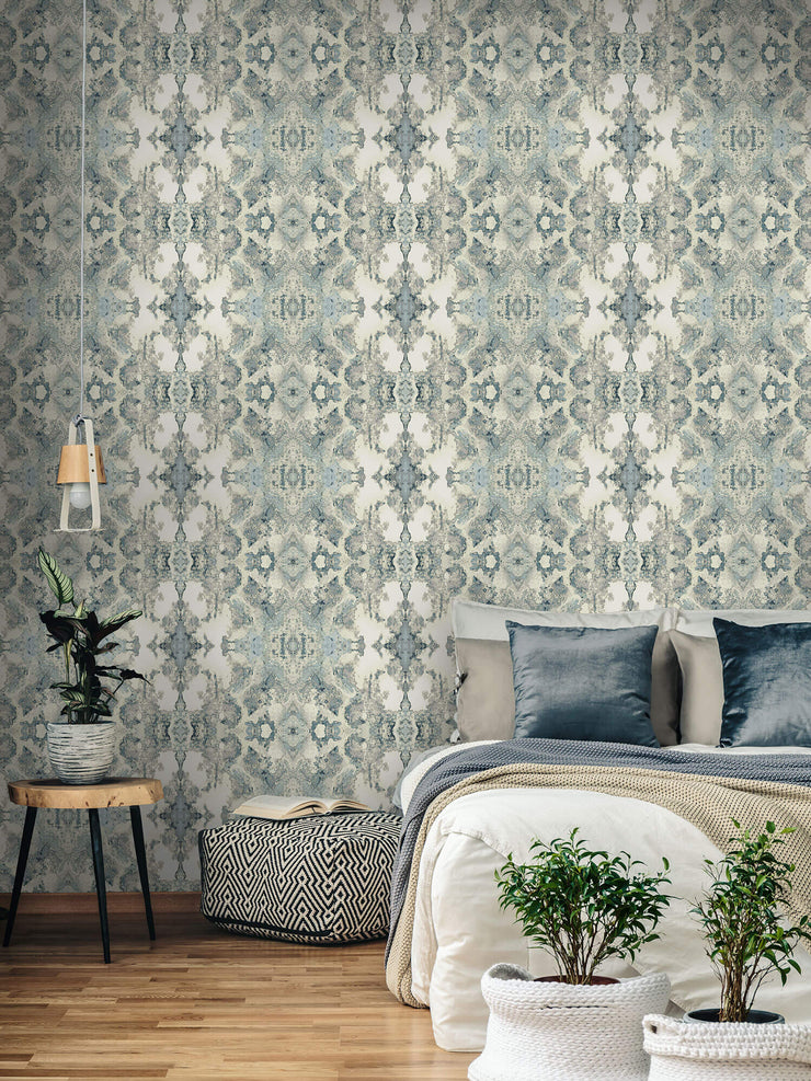 Inner Beauty Wallpaper by Candice Olson - Blue