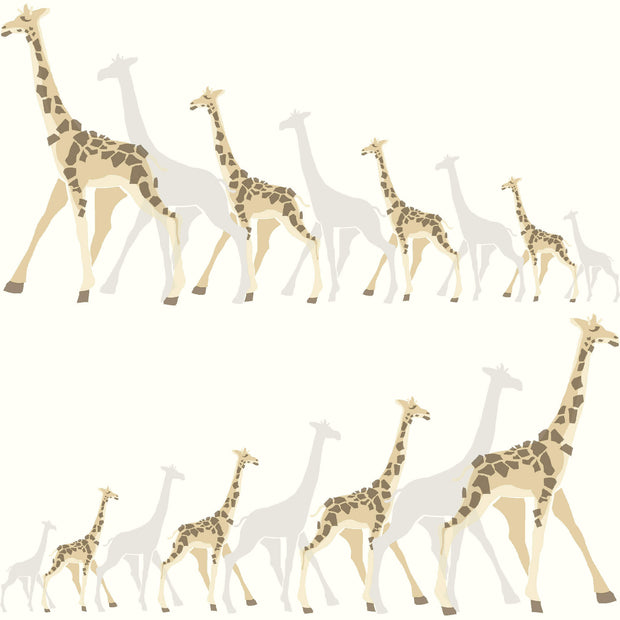 DW2362 DwellStudio Baby & Kids Giraffe Wallpaper Off White