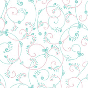 Disney Kids Princess Elena Scroll Wallpaper - SAMPLE SWATCH ONLY