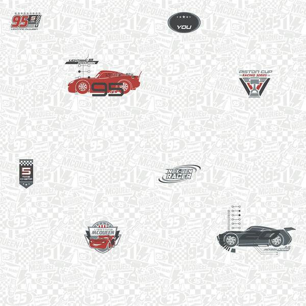 Disney Kids Pixar Cars 3 Racing Wallpaper - SAMPLE ONLY