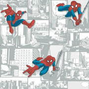 Disney Kids Marvel Ultimate Spiderman Comic Wallpaper - SAMPLE ONLY