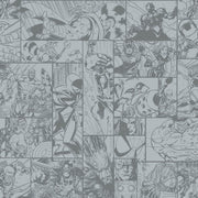Disney Kids Marvel Comic Strip Wallpaper - SAMPLE SWATCH ONLY