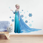 Disney Frozen Elsa Giant Wall Decals with Glitter