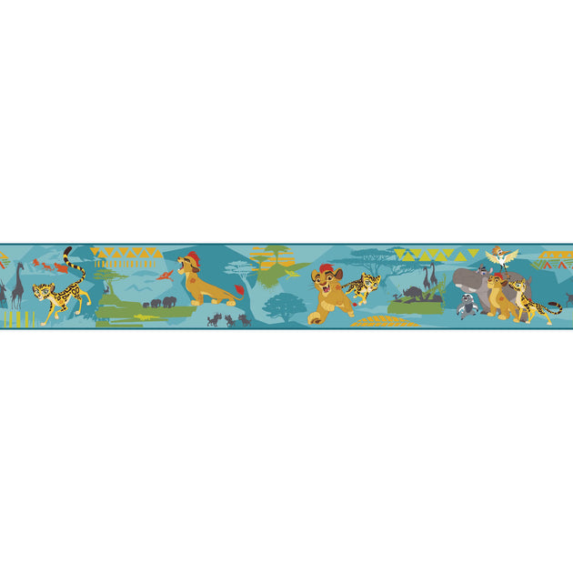 Disney Kids The Lion King Guard Scenic Wall Border Us