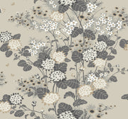 Florence Broadhurst Chinese Floral Wallpaper - Taupe