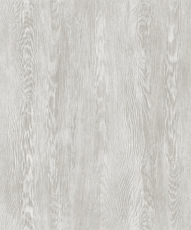 Simply Farmhouse Quarter Sawn Wood Wallpaper - Gray