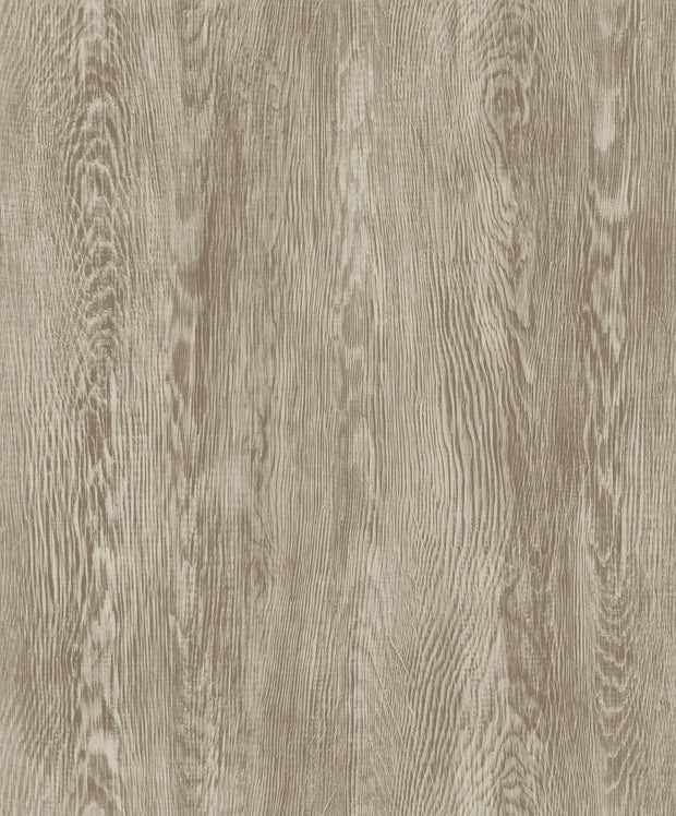 Simply Farmhouse Quarter Sawn Wood Wallpaper - Brown