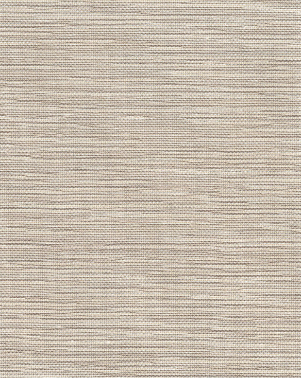 Ronald Redding Masaka Grasscloth Wallpaper - Brown
