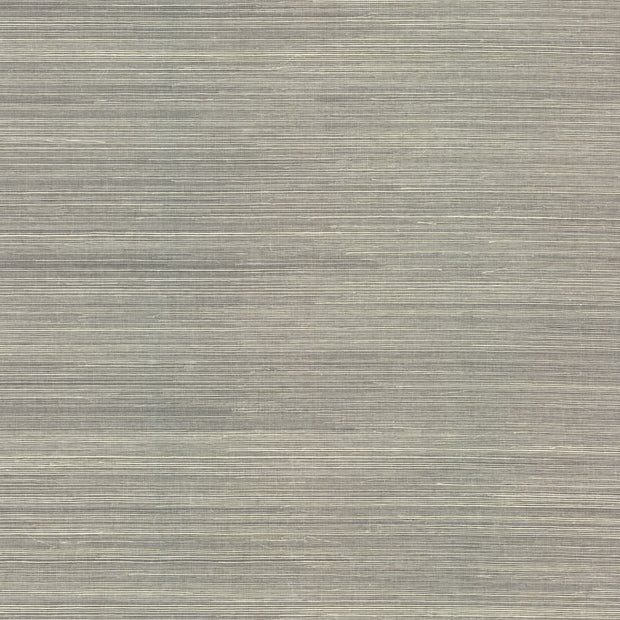 Ronald Redding Imperial Grasscloth Wallpaper - Light Gray