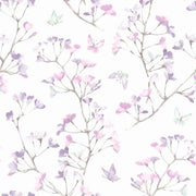 Watercolor Branch Wallpaper - SAMPLE ONLY
