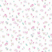 Watercolor Floral Bouquet Wallpaper - SAMPLE ONLY