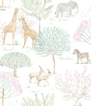 On The Savanna Wallpaper - SAMPLE ONLY