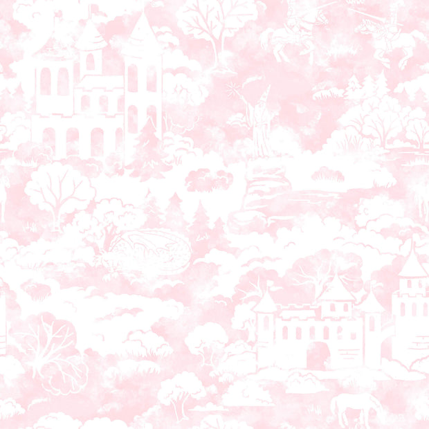 KI0563 Quiet Kingdom Wallpaper white Pink