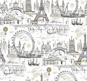 Novelty Euro Scenic Wallpaper - SAMPLE ONLY