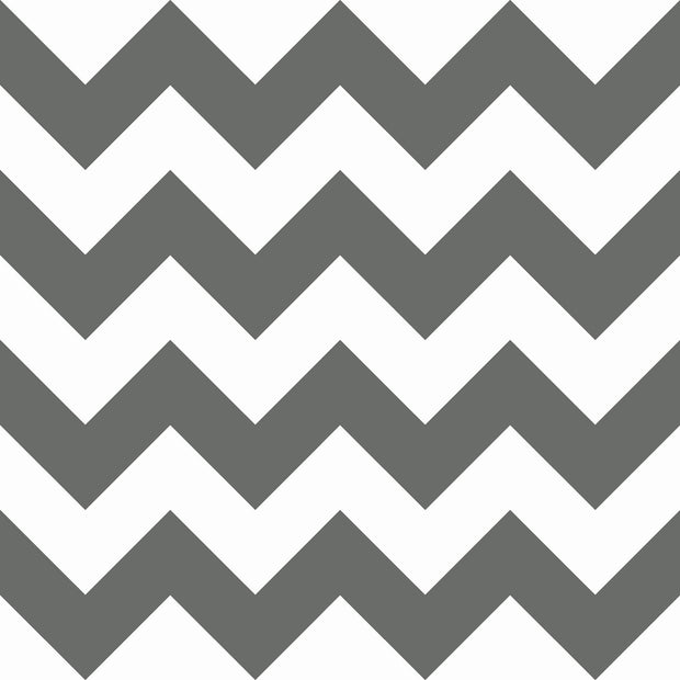 KI0588 Chevron Sidewall Wallpaper York Black