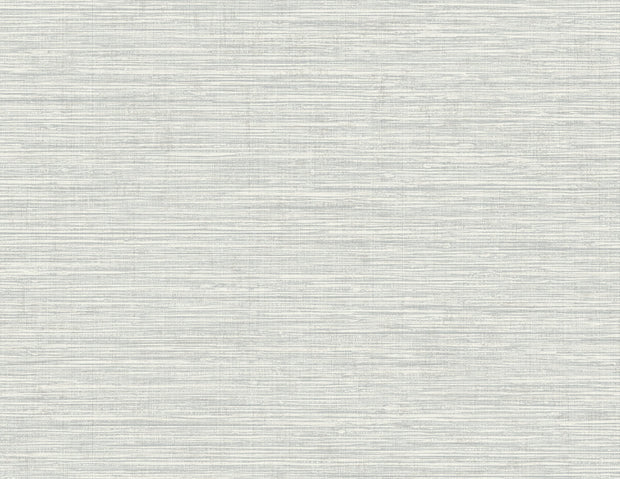Beach House Nautical Twine Stringcloth Wallpaper - Daydream Gray