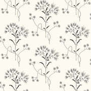 ME1515 Magnolia Home Wildflower Wallpaper York Black on White