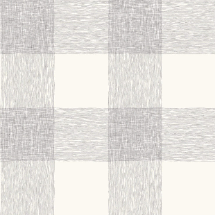 ME1520 Magnolia Home Common Thread Wallpaper Black on White