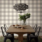 ME1523 Magnolia Home Common Thread Kitchen Wallpaper Cream Black