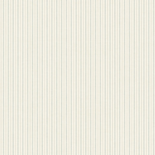 ME1562 Magnolia Home French Ticking Wallpaper Light Blue