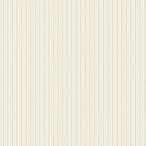 ME1563 Magnolia Home French Ticking Wallpaper Cream
