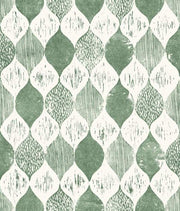 Magnolia Home Woodblock Print Wallpaper - SAMPLE ONLY