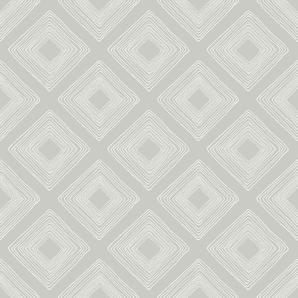 Magnolia Home Diamond Sketch Wallpaper - SAMPLE ONLY